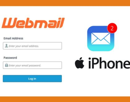 Setup Webmail In IOS 10 or iPhone