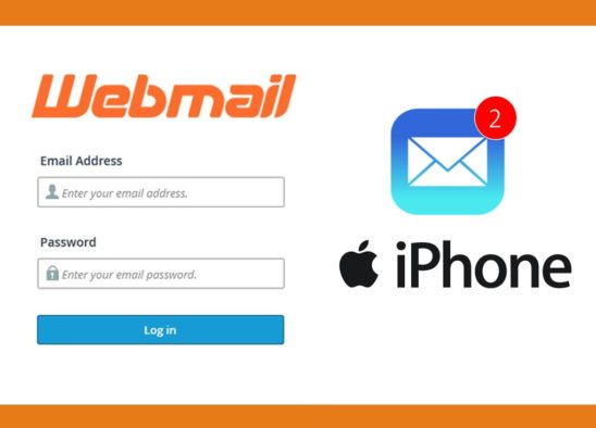 Webmail on iphone