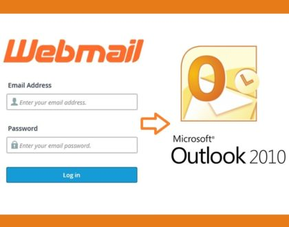Webmail Access from Microsoft Office Outlook
