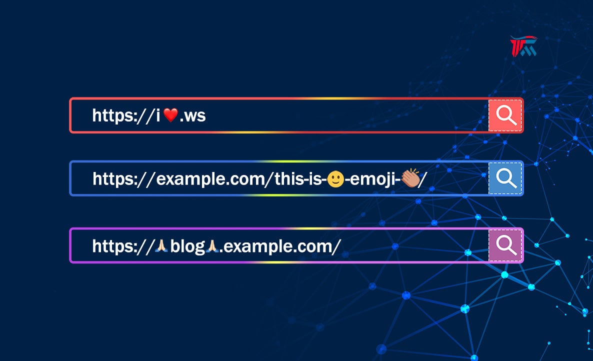 ❤️ Emoji use in Domain Name or URLs of Website ❤️