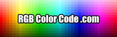 RGB Color Code