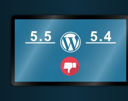 Downgrade WordPress 5.5 to 5.4.2 Manually