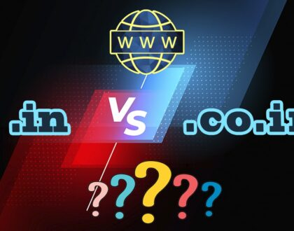 .in or .co.in domain which one is better?